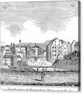 Rhode Island, Usa, 1839 Acrylic Print