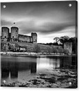 Rhuddlan Castle Acrylic Print