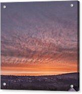 Rhymney Valley Sunrise Acrylic Print