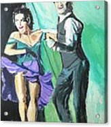 Rhythm Of The Night Acrylic Print by Judy Kay