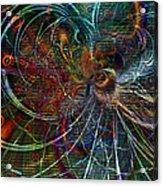 Rhythmic Patterns Acrylic Print