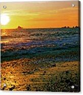 Rialto Beach Sunset Olympic National Park Acrylic Print