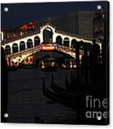 Rialto Bridge Appeal Acrylic Print