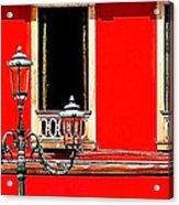 Rialto Red Acrylic Print