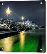 Green Waters Acrylic Print