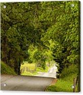 Ribbon Road Acrylic Print