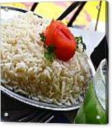 Rice And Caipirhina Acrylic Print
