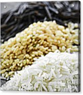 Rice Colors Acrylic Print
