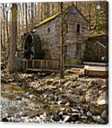 Rice Grist Mill And Threshing Barn  Acrylic Print