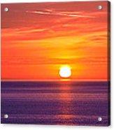 Rich Sunset Acrylic Print