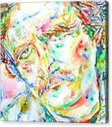 Richard Brautigan  Acrylic Print