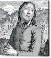 Richard Hurst  Catholic, Hanged Acrylic Print