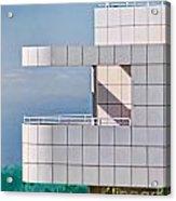 Richard Meier's Getty Acrylic Print