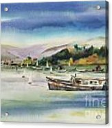 Richardson Bay Marin Acrylic Print