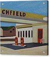 Richfield Gas Station Acrylic Print