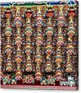 Richly Decorated Temple Ceiling Acrylic Print
