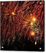 Richmond Fireworks Acrylic Print