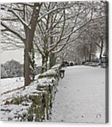 Richmond Hill Snow Acrylic Print