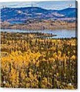 Richthofen Island Yukon Territory Canada Acrylic Print