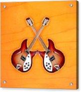 rickenbacker 12-S guitar Acrylic Print