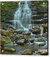 Ricketts Glen Waterfall Canyon Acrylic Print