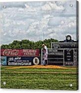 Rickwood Classic Baseball - Birmingham Alabama Acrylic Print