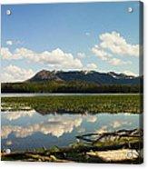 Riddle Lake Acrylic Print