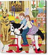 Ride-a-cock-horse Acrylic Print