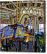 Ride A Painted Pony - Coney Island 2013 - Brooklyn - New York Acrylic Print