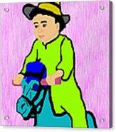 Ride The Horsey Acrylic Print