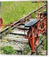 Ride The Rail Acrylic Print