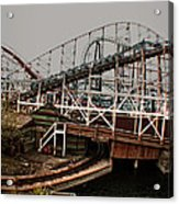 Ride The Roller Coaster Acrylic Print