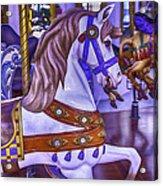 Ride The White Horse Acrylic Print