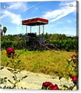 Rideau Vineyards Solvang California Acrylic Print