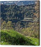 Ridge View Acrylic Print