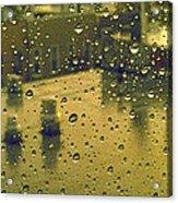 Ridgewood Wet With Rain St Matthias Roman Catholic Church Acrylic Print