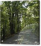 Riding The Woods Of Alabama Acrylic Print