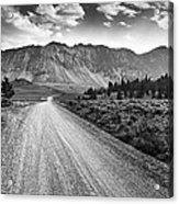 Riding To The Mountains Acrylic Print