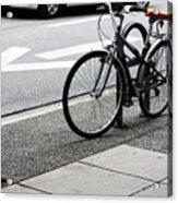 Riding Uptown Acrylic Print