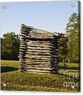 Rifle Tower Ninety Six National Historic Site Acrylic Print
