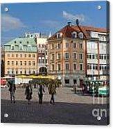 Riga Old Town 3 Acrylic Print
