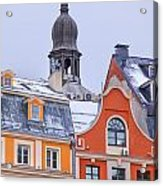 Riga Old Town Acrylic Print