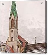 Riga St Johns Church Acrylic Print