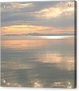 Rileys Bay Door County Sunset Acrylic Print