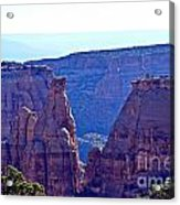 Rim Rock Colorado Acrylic Print