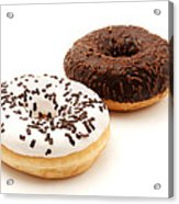 Ring Doughnuts Acrylic Print