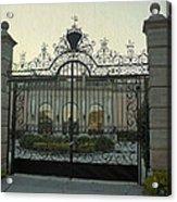 Ringling Gate Acrylic Print