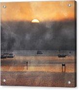 Ringling Misty Morning Acrylic Print