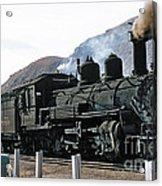 Rio Grande Railway Baldwin Built In 1903 No. 464 Circa 1955 Acrylic Print