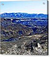 Rio Grande River Canyon-arizona Acrylic Print